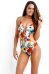 Field Trip Cut-Out One Piece Maillot White