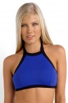 Block Party High Neck Bikini Tank Top - Blueray Seafolly