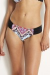 Sahara Nights Ruched Side Retro Bikini Bottoms Seafolly
