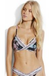 Water Garden Wrap Front Booster Seafolly
