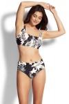 Wild Tropics F Cup Square Neck Tank Bikini Top