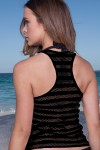 Barby Beachwear Shirt Black