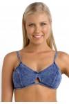 Deja Blue Bralette Bikini Top