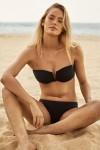 Active V Wire Bandeau Mini Hipster Bikini Bikini Set