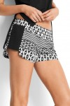 Modern Geo Mesh Side Short Seafolly