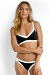 Block Party Sweetheart Bralette Bikini Top with Brazilian Bikini Pant Seafolly