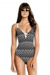 Optic Wave Deep V Maillot Seafolly
