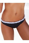 MONROE black white dots bottom