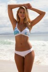 TERRIGAL/CRUISE BIKINI SET RAINDANCE/WHITE