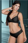 Victoria minimizer bra with briefs Black